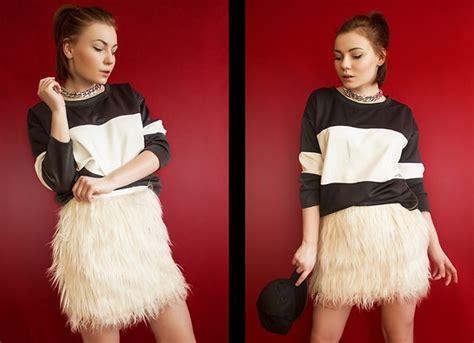 Estera Skirt estera matras sheinside blouse frontrowshop skirt b w lookbook