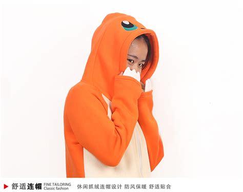 Hoodie Go Pikachu Mistykingkonveksi go anime hoodie umbreon pikachu eevee coat m ebay