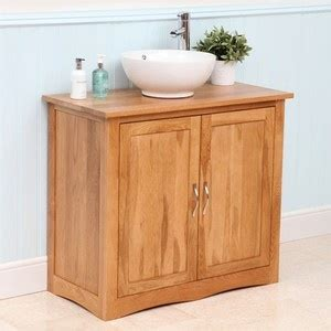 Washstands And Vanity Units cala solid oak bathroom washstand vanity unit 900mm new boxed