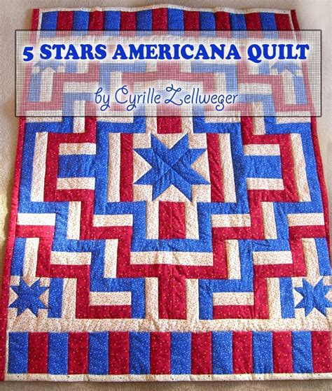 Americana Quilt by 5 Americana Patriotic Quilt Pattern Pdf Easy