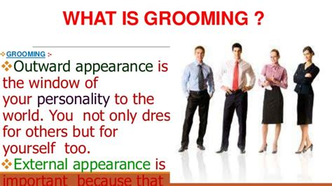For Your Hair And Personality Grooming by Grooming Ppt 19 12 2013