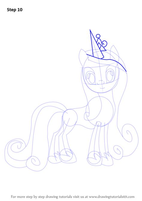 how to draw an alicorn princess from my little pony learn how to draw princess cadance from my little pony