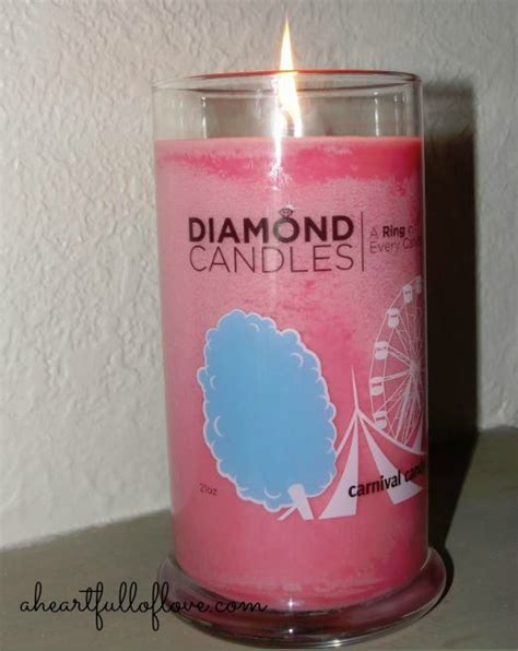 Diamond Candle Giveaway - diamond candle review and giveaway a heart full of love