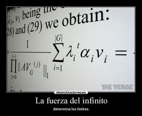 imagenes limites matematicos la fuerza del infinito desmotivaciones