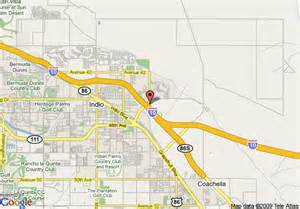 map of inn express indio indio
