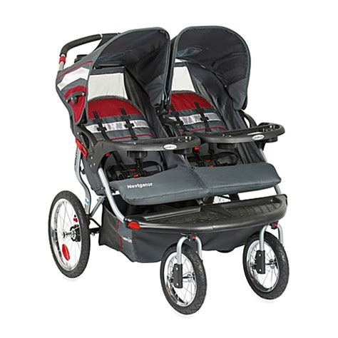 bed bath and beyond strollers baby trend 174 navigator double jogging stroller www