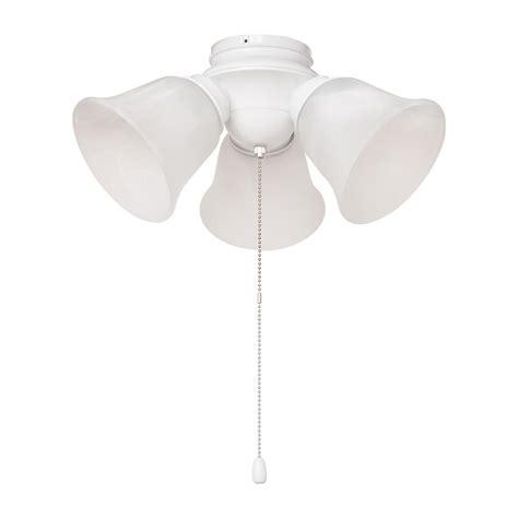 Hton Bay Led Ceiling Light Hton Bay 3 Light White Alabaster Glass Led Ceiling Fan Light Kit Hb3454 06 The Home Depot