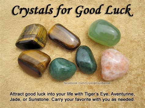 crystals for luck attract luck into your