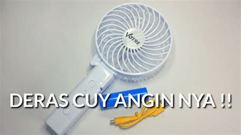 Kipas Genggam Tangan Votre Sf 05b review dan unboxing kipas angin mini genggam mini fan