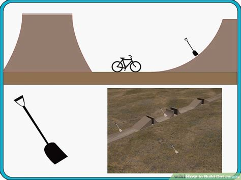 bmx dirt jump lip how to how to build dirt jumps 5 steps with pictures wikihow