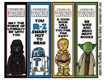 printable bookmarks star wars bookmark monday maythefourthbewithyou mondays war