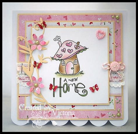 Handmade New Home Card Ideas - vixx handmade cards new home card