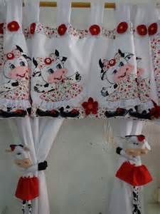 Cows but for the idea of the cute tiebacks for the shower curtain