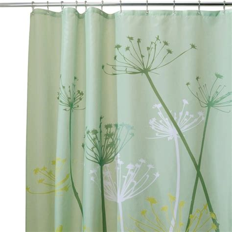 Curtains With Green Decorating Interior Pleasing White Curtains With Green Leaves For Shower Room And Window White Curtains