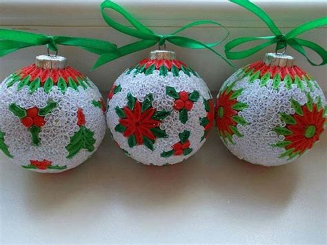 christmas decorations quilling holliday decorations