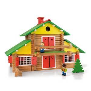 jeux de construction en bois jeu de construction mon chalet en bois 240 pi 232 ces