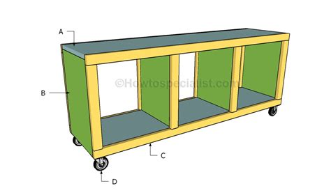 how to build a bench with cubbies cubbie bench plans images