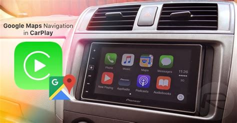 Can You Use Maps On Carplay by Using Maps Navigation In Apple Carplay Mode
