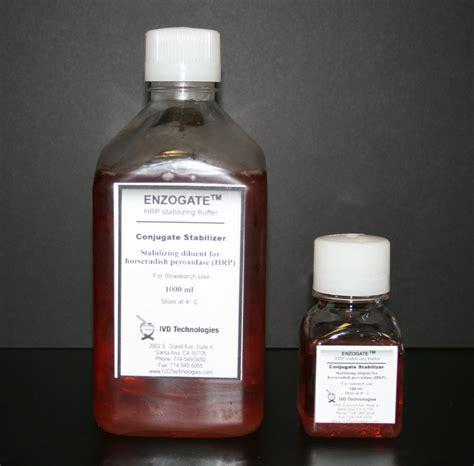 s protein hrp conjugate enzogate hrp conjugate stabilizer 130 00 per liter