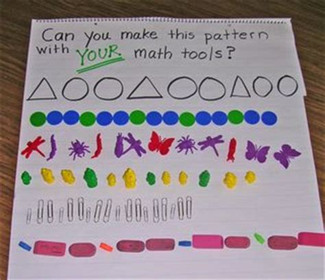 making patterns activities for kindergarten kindergarten kindergarten patterns