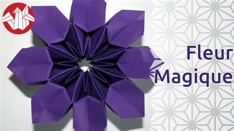 Fleur Origami - origami fleur magique magic flower senbazuru