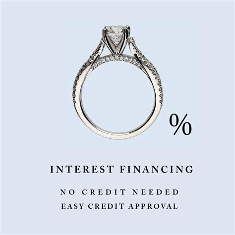 no credit needed financing engagement ring financing
