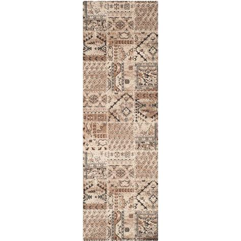 8 foot runner rug safavieh tunisia ivory 2 ft 6 in x 8 ft rug runner tun1311 kmk 28 the home depot