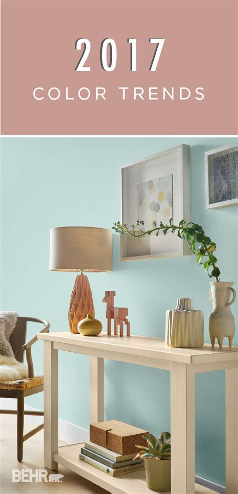 paint trends 2017 81 best behr 2017 color trends images on pinterest color