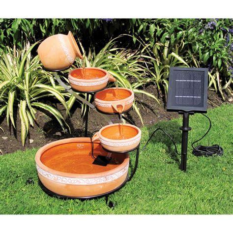 koolatron cascading solar fountain kit csfk   home depot