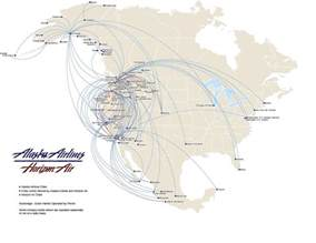 alaska airlines map us alaska air route map another flyway from alaska to lower
