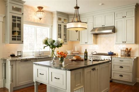 kitchen island pendant lighting ideas ceiling large single pendant light above a small kitchen counter looks like a