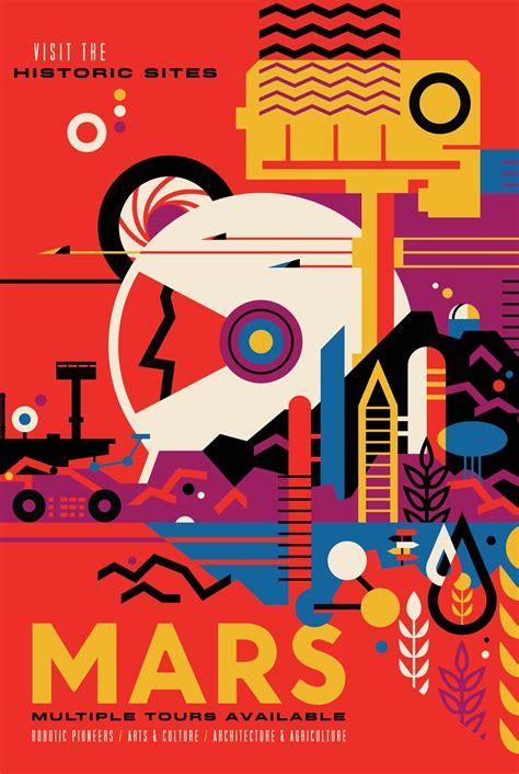 nasa design poster nasa lanza carteles para promover el turismo espacial