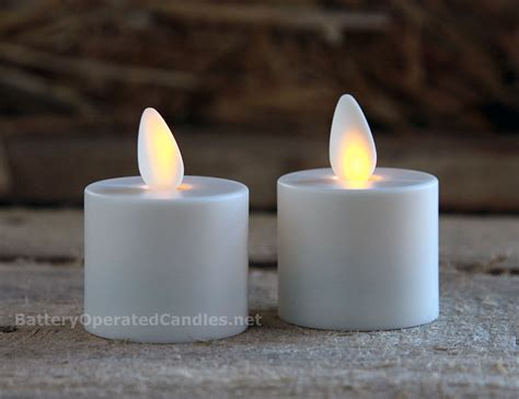 moving tea light candles moving tealights battery operated set of 2 with