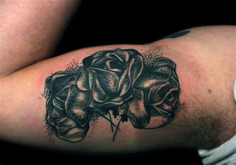 mens black rose tattoo black tattoos designs ideas and meaning tattoos