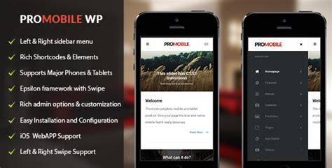 themeforest webby mobile and tablet responsive promobile mobile and tablet responsive wordpress theme