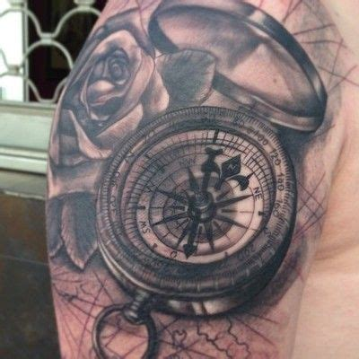 compass tattoo hd compass rose half sleeve by jose gonzalez at ink in tattoo