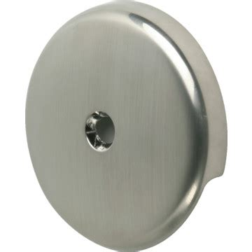 overflow plate bathtub bathtub overflow plate 1 hole brushed nickel finish hd