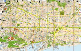 Map Of Barcelona Spain by Barcelona Map