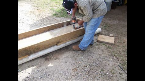 Concrete Block Home Plans by How We Made Feed Troughs For Our Cattle Youtube