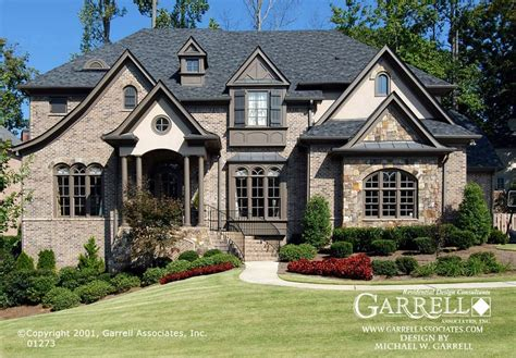 home design european style garrell associates inc beaujolais house plan 01273