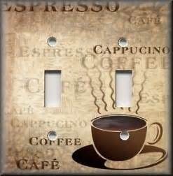 Kitchen Light Switch Covers Light Switch Plate Cover Kitchen Decor Cafe Fresh Coffee Home Decor Cafe Ebay