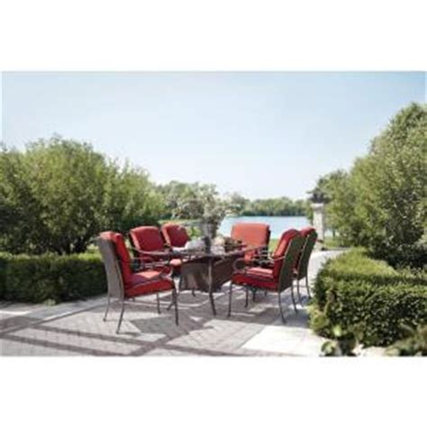 Martha Stewart Living Cedar Island 7 Piece Patio Dining Martha Stewart 7 Patio Dining Set