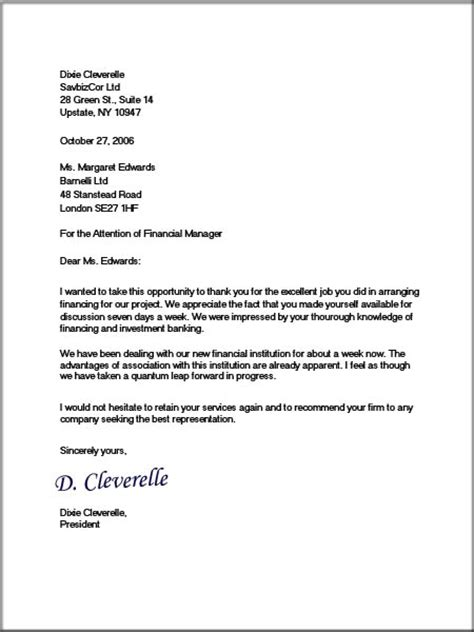 letter to a business format business letters format professional way of passing out