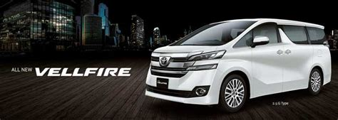dalam kereta vellfire all vellfire 2018 indonesia spesifikasi eksterior