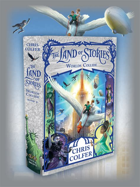 when worlds collide the collide series books the series the land of stories by chris colfer