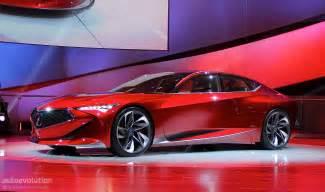 Acura Concept Cars Acura Precision Concept Spices Up The 2016 Detroit Auto