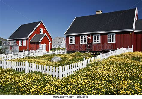 houses in greenland nuuk houses stock photos nuuk houses stock images alamy