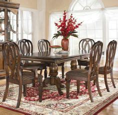 8 pc hamlyn rectangular double pedestal table dining room dining tables on pinterest dining room sets dining