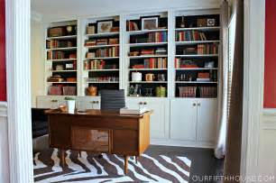 Home Bookshelves by Custom Home Office