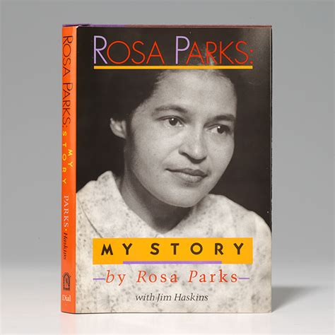 libro rosa parks little people my story first edition signed rosa parks bauman rare books
